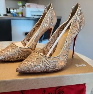 COPY - Exclusive Christian Louboutin Rose Gold La…